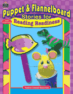 Puppet and Flannelboard Stories for Reading Readiness (Enhanced eBook)