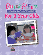 Quick & Fun Learning Activities for 3 Year Olds