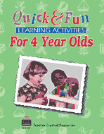 Quick & Fun Learning Activities for 4 Year Olds