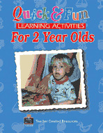 Quick and Fun Learning Activities for 2 Year Olds (Enhanced eBook)