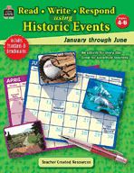 Read-Write-Respond Using Historic Events: January-June (Enhanced eBook)