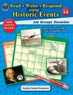 Read-Write-Respond Using Historic Events: July-December (Enhanced eBook)