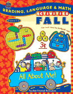Reading, Language & Math Activities: Fall