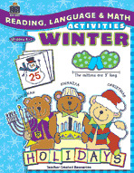 Reading, Language & Math Activities: Winter