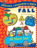 Reading, Language and Math Activities: Fall (Enhanced eBook)