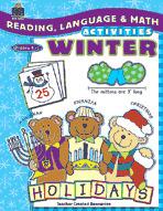 Reading, Language and Math Activities: Winter (Enhanced eBook)