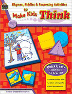 Rhymes, Riddles & Reasoning Activities to Make Kids Think