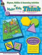 Rhymes, Riddles and Reasoning Activities to Make Kids Think (Enhanced eBook)