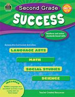 Second Grade Success (Enhanced eBook)