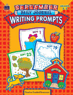 September Daily Journal Writing Prompts