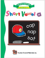 Short Vowel A Workbook