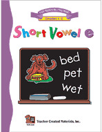 Short Vowel E Workbook
