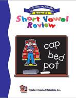 Short Vowel Review Workbook