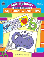 Skill Builders for Young Learners: Alphabet and Phonics (Enhanced eBook)
