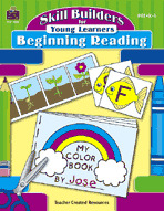 Skill Builders for Young Learners: Beginning Reading