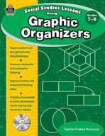 Social Studies Lessons Using Graphic Organizers (Enhanced eBook)