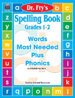 Spelling Book, Grades 1-2 by Dr. Fry