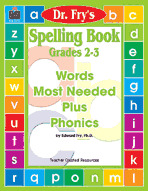 Spelling Book, Grades 2-3 by Dr. Fry
