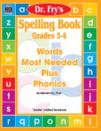Spelling Book, Grades 3-4 by Dr. Fry