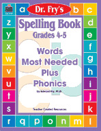 Spelling Book, Grades 4-5 by Dr. Fry