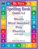 Spelling Book: Grades 4-5 by Dr. Fry (Enhanced eBook)