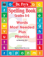 Spelling Book, Grades 5-6 by Dr. Fry