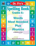 Spelling Book, Grades 6+ by Dr. Fry