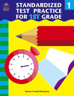 Standardized Test Practice for 1st: Grade (Enhanced eBook)