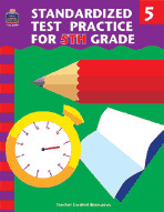 Standardized Test Practice for 5th: Grade (Enhanced eBook)
