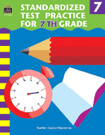 Standardized Test Practice for 7th: Grade (Enhanced eBook)