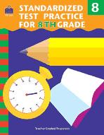 Standardized Test Practice for 8th: Grade (Enhanced eBook)