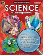 Standards-Based Science Investigations: Grade 4 (Enhanced eBook)