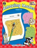 Start to Finish: Amazing Mazes: Grades 1-2 (Enhanced eBook)