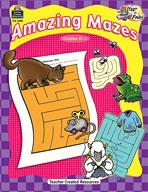 Start to Finish: Amazing Mazes: Grades K-1 (Enhanced eBook)