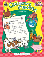 Start to Finish: Crossword Puzzles Grades 2-3
