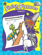 Start to Finish: Finish the Pictures Grades K-1 (Enhanced eBook)