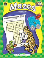 Start to Finish: Mazes Grades K-1 (Enhanced eBook)