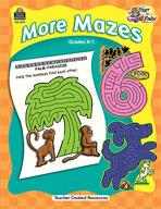 Start to Finish: More Mazes Grades K-1