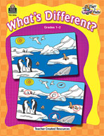 Start to Finish: What's Different? (Grades 1-2) (Enhanced eBook)