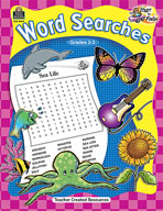 Start to Finish: Word Searches Grades 2-3