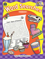 Start to Finish: Word Searches Grades 3-4 (Enhanced eBook)
