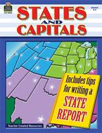 States and Capitals: Grades 4-5 (Enhanced eBook)