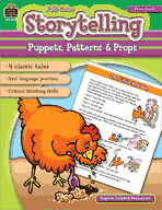 Storytelling: Puppets, Patterns and Props (Enhanced eBook)