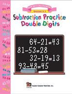 Subtraction Practice Double Digits
