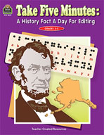 Take Five Minutes: A History Fact a Day for Editing (Enhanced eBook)