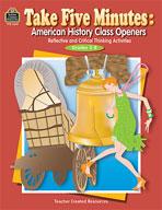 Take Five Minutes: American History Class Openers (Enhanced eBook)