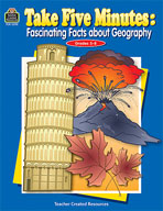 Take Five Minutes: Fascinating Facts about Geography (Enhanced eBook)