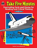 Take Five Minutes: Fascinating Facts and Stories for Reading and Critical Thinking