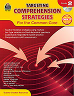 Targeting Comprehension Strategies for the Common Core Grade 2 (Enhanced eBook)