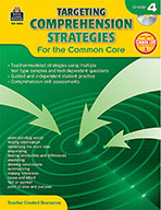 Targeting Comprehension Strategies for the Common Core Grade 4 (Enhanced eBook)